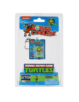 World's Smallest Teenage Mutant Ninja Turtles Leonardo Micro Action Figure