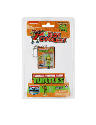 World's Smallest Teenage Mutant Ninja Turtles Michelangelo Micro Action Figure