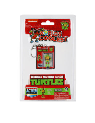 World's Smallest Teenage Mutant Ninja Turtles Raphael Micro Action Figure
