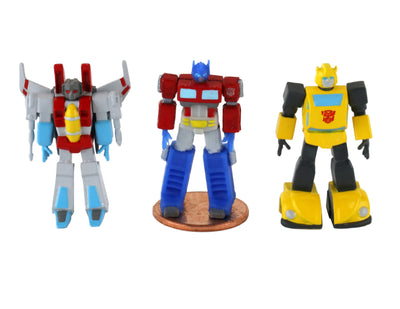World's Smallest Transformers Set of 3 Micro Action Figures