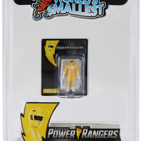 World's Smallest Power Rangers Set of 6 Micro Action Figures