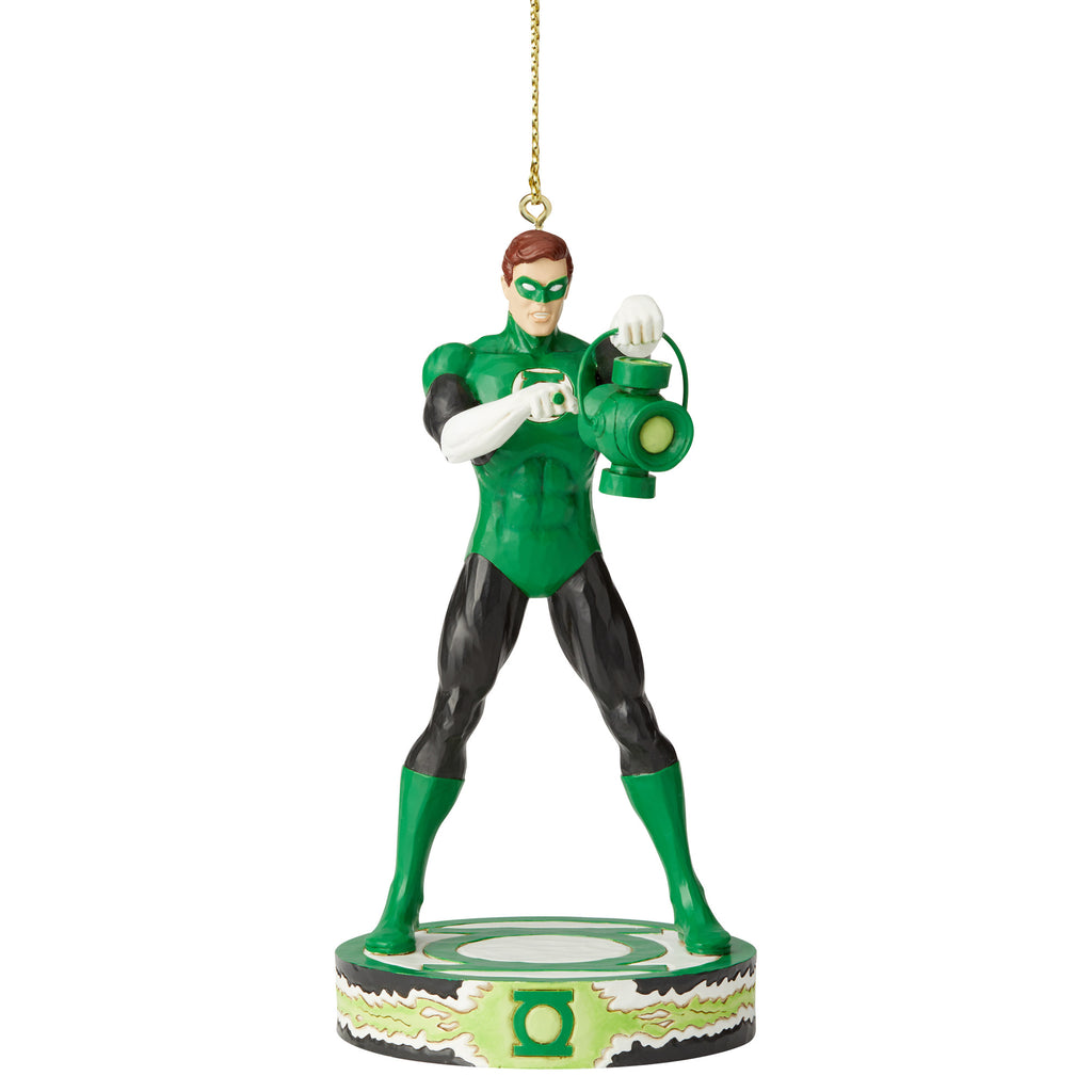 DC Comics Green Lantern Silver Age Ornament by Jim Shore
