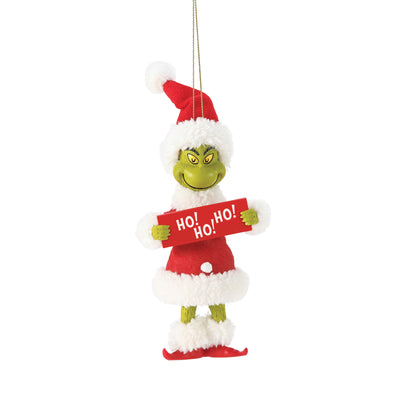 Grinch - HO! HO! HO! Ornament