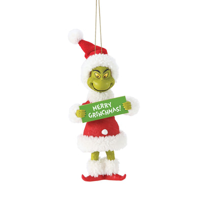 Grinch - Merry Christmas Ornament