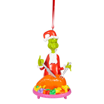 Grinch - Cutting Roast Beast Ornament