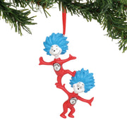 Dr. Seuss - Thing 1 Thing 2 Ornament