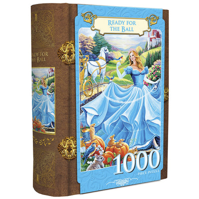 Cinderella's Ball Book Boxes 1000 Piece Jigsaw Puzzle by Jenny Newland - Zolo's Room