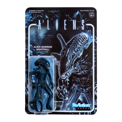 Aliens ReAction Figure - Alien Warrior C (Nightfall Blue)