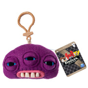 Fuggler Funny Ugly Monster, Collectible Plush Clip-On, Annoyed Alien - Purple