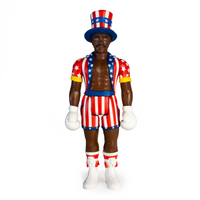 ReAction Rocky IV Apollo Creed Action Figure