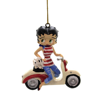 Betty Boop on Scooter Ornament by Kurt Adler