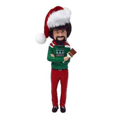 Bob Ross with Hat Ornament by Kurt Adler