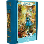 MasterPieces Down the Rabbit Hole - Alice in Wonderland 300 Piece EZgrip Jigsaw Puzzle