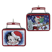 Betty Boop Mini Tin Lunch Box Ornament by Kurt Adler