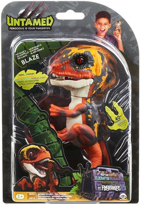 Fingerlings Untamed Dinosaur Blaze the Velociraptor - Zolo's Room