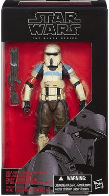 Star Wars Rogue One Black Series Scarif Stormtrooper Squad Leader 6