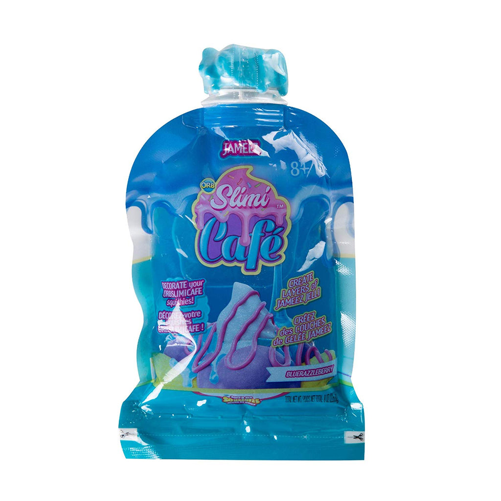 Soft'N Slo Squishies Slimi Cafe Jameez Bluerazzleberry Squeeze Toy Accessory