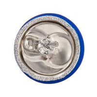 Budweiser Bud Light Can Glass Ornament by Kurt Adler