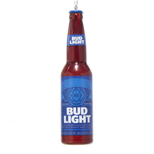 Budweiser Bud Light Bottle Ornament by Kurt Adler