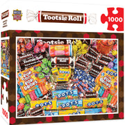 MasterPieces Candy Brands Tootsie Roll 1000 Piece Jigsaw Puzzle