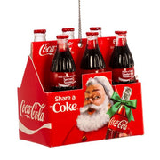 "Coca-Cola ""Share a Coke"" 6-Pack Ornament by Kurt Adler"