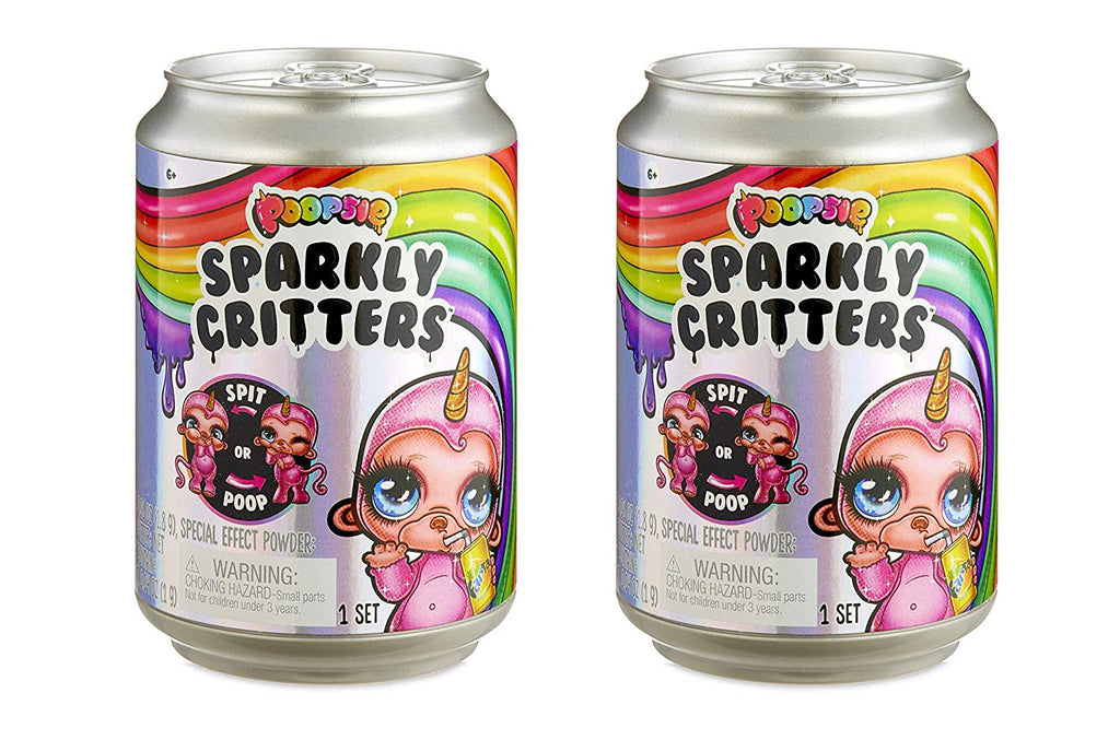 Poopsie Sparkly Critters,  Lot of 2