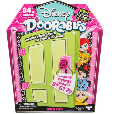 Disney Doorables Series 2 Multi Peek Mystery Pack (5, 6 or 7 Figures)