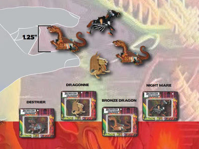 World's Smallest Dungeons & Dragons Set of 4 Micro Action Figures (Pre-Order Ships October)