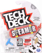 Tech Deck 96mm Fingerboard Series 13 Baker - Elissa Steamer / Brand Logo