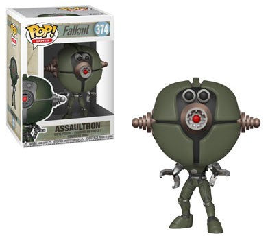 Fallout Funko POP! Games Assaultron Vinyl Figure #374