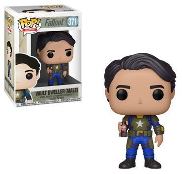 Fallout Funko POP! Games Vault Dweller Male Vinyl Figure #371
