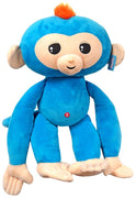 Fingerlings Monkey Blue with Orange Hair 27-Inch Jumbo Plush with Sound - Zolo's Room
