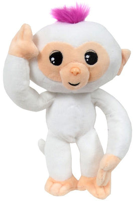 Fingerlings Baby Monkey White 10-Inch Plush with Sound - Zolo's Room