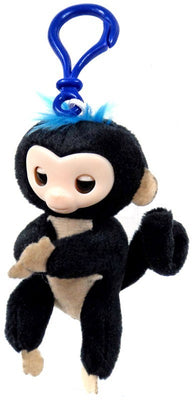 Fingerlings Black Plush Hugger Clip On Plush - Zolo's Room