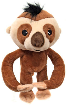 Fingerlings Brown Baby Sloth 10-Inch Plush with Sound - Zolo's Room