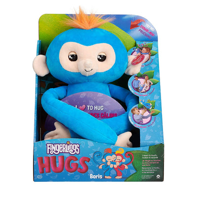Fingerlings HUGS Boris Plush with Sound Monkey