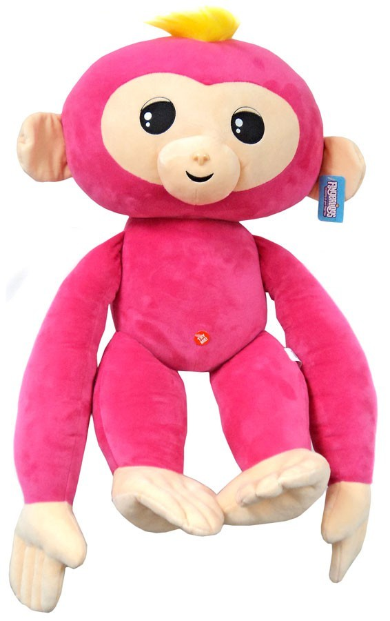 Fingerlings Monkey Pink with Yellow Hair 27-Inch Jumbo Plush with Sound - Zolo's Room