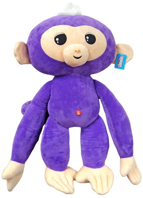 Fingerlings Monkey Purple with White Hair 27-Inch Jumbo Plush with Sound - Zolo's Room