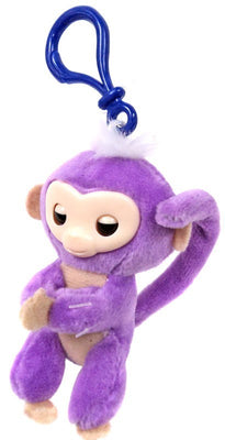 Fingerlings Purple Plush Hugger Clip On Plush - Zolo's Room
