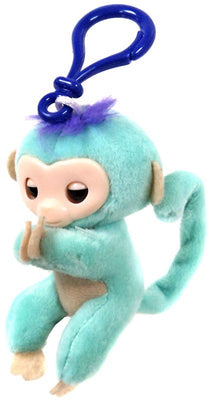 Fingerlings Teal Plush Hugger Clip On Plush - Zolo's Room