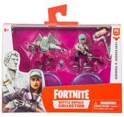 Fortnite Epic Games Battle Royale Collection Love Ranger & Teknique 2-Inch Mini Figure 2-Pack