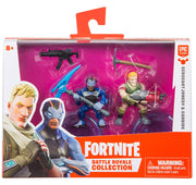 Fortnite Epic Games Battle Royale Collection Sergeant Jonesy & Carbide 2-Inch Mini Figure 2-Pack