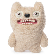 "Fuggler Funny Ugly Monster, 9"" Ol' Toothblock Plush Creature with Teeth - Fuzzy Beige"