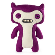 "Fuggler Funny Ugly Monster, 12"" Lil' Demon Deluxe Plush Creature with Teeth - Purple"