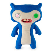 "Fuggler Funny Ugly Monster, 12"" Lil' Demon Deluxe Plush Creature with Teeth - Blue"