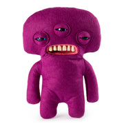 "Fuggler Funny Ugly Monster, 9"" Annoyed Alien Plush Creature with Teeth - Purple"