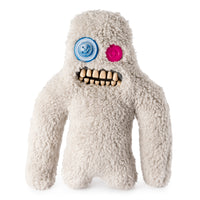"Fuggler Funny Ugly Monster, 9"" Sasquoosh Plush Creature with Teeth - Fuzzy Grey"