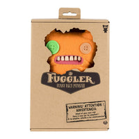 "Fuggler Funny Ugly Monster, 9"" Indecisive Monster Plush Creature with Teeth - Orange"