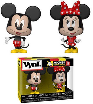 Funko Disney Vynl. Mickey Mouse & Minnie Mouse Vinyl Figure 2-Pack (90 years)