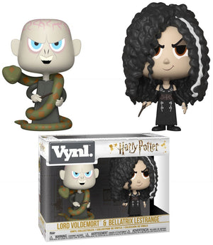 Harry Potter Funko Vynl. Lord Voldemort & Bellatrix Lestrange Vinyl Figure 2-Pack